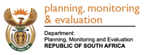 Department Planning Monitoring and Evaluation